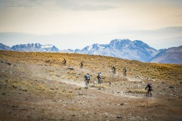PIONEER RIDERS OVERCOME THE ELEMENTS ON WAY TO TEKAPO